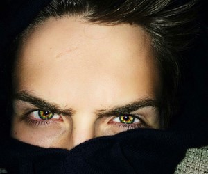 boy, greeneyes, and browneyes image