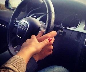 love, audi, and car image