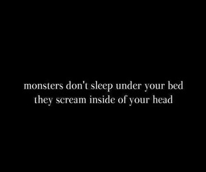 monster, quotes, and head image