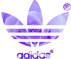 adidas, pink, and wallpaper image