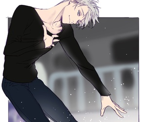 yuri on ice, viktor, and viktor nikiforov image