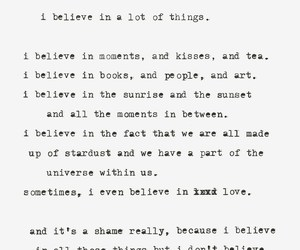 quote, believe, and myself image