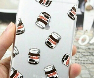 case, iphone, and nutella image