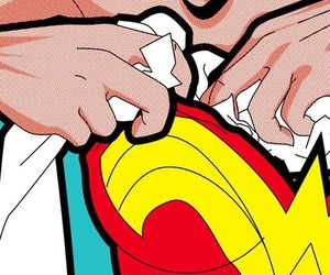 wonder woman, pop art, and comic image