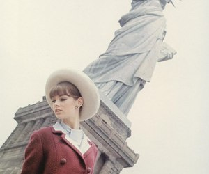 new york, vintage, and model image