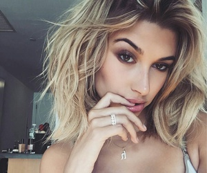 blonde, hairstyles, and makeup image