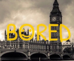 sherlock, bored, and london image