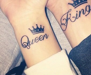 king, Queen, and Tattoos image