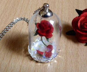 beauty and beast, etsy, and fairy tale image