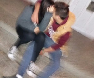 blurry, couple, and goals image