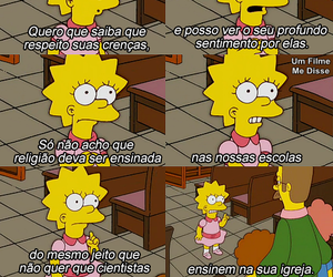 religiao, religion, and simpsons image