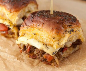 burger, cheese, and party image