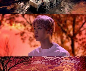 jin, wings, and bts image