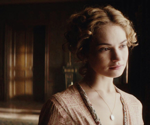 war and peace, lily james, and natasha rostova image