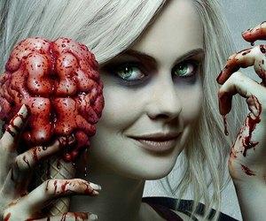 izombie, zombie, and the cw image
