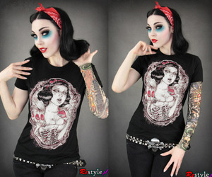 Amusing gothic pin up girl necessary