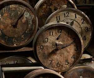 time, vintage, and clocks image