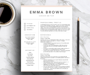 resume, job interview, and cover letter image