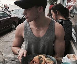 boy, guy, and food image