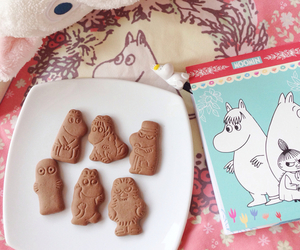 aesthetic, food, and moomin image