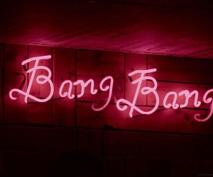 light, neon, and bang bang image