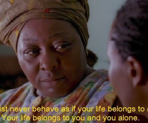 empowerment, female, and movie quote image