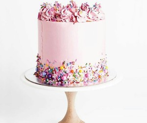pink, rosa, and torta image