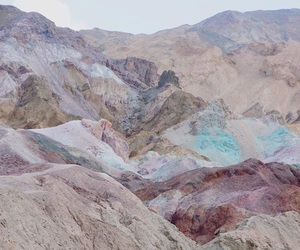 mountains, nature, and colors image