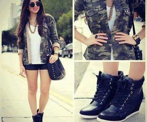 style, shoes, and outfit image
