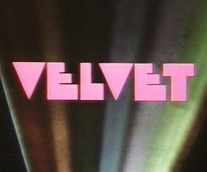 aesthetic, velvet, and pink image