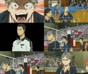 anime and haikyuu image
