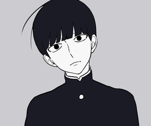 anime, mob psycho 100, and shigeo kageyama image