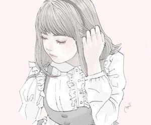 art, girl, and cute image