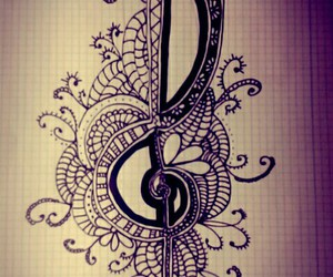 art and music note image