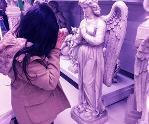 aesthetic, c4ke.bomb, and angel image