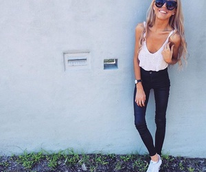 blond, fashion, and girly image