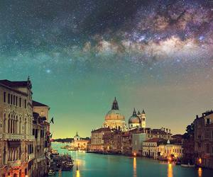 venice, travel, and sky image