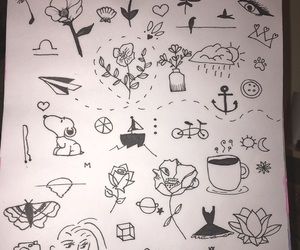 doodles and sketch image