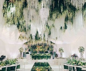 wedding and reception image