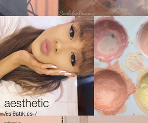 aesthetic, grande, and fangirl image