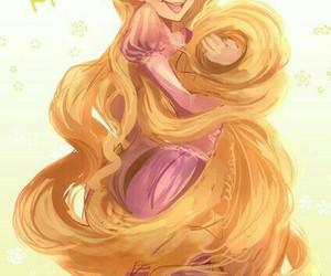 tangled, disney, and princess image