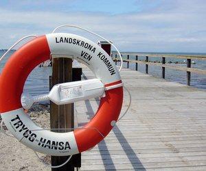 sea, sweden, and landskrona image