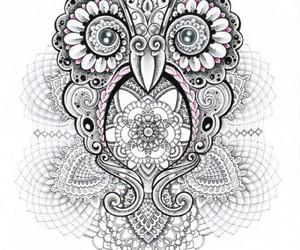 owl art creative image