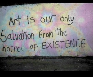 art, Existence, and grunge image