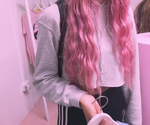 pink and tumblr image
