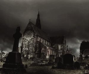 dark, night, and black image
