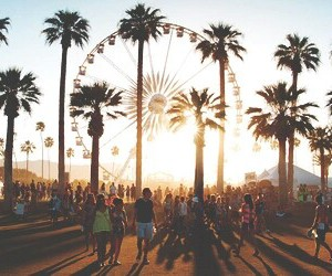 coachella, festival, and hippy image