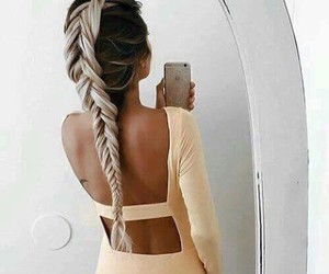 cheveux, fashion, and dress image