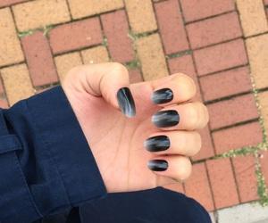 black, fall, and nail image