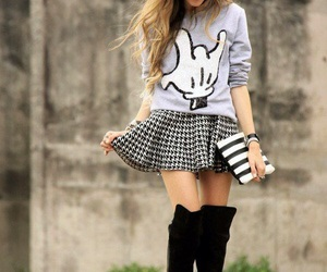 boots, fall, and outfits image